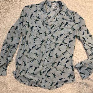 Express The Portofino Shirt with dragonflies